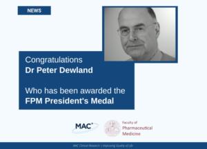 FPM Award Dr Peter Dewland